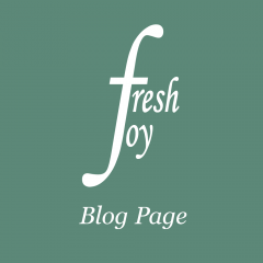 Fresh Joy Blog